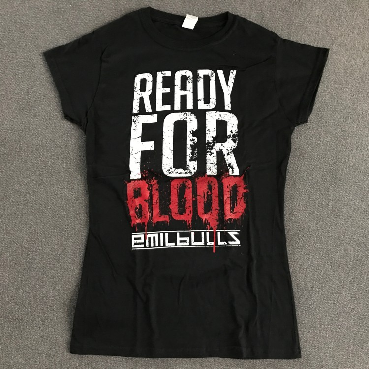 EMIL BULLS - Girlie Shirt - Ready For Blood