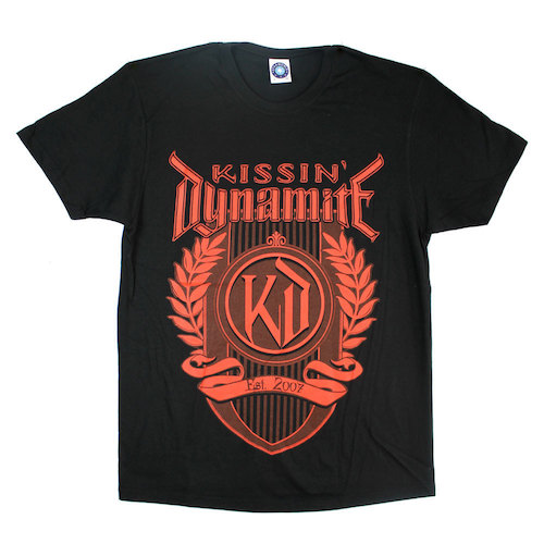 KISSIN` DYNAMITE - T-Shirt - Logo Red
