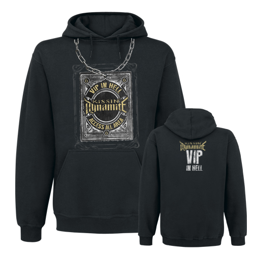 KISSIN` DYNAMITE - Hooded Sweater - VIP In Hell
