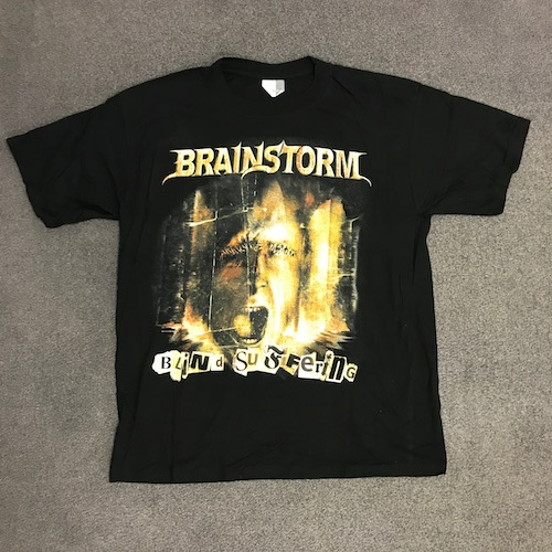 BRAINSTORM - T-Shirt - Metus Mortis Tour 2002