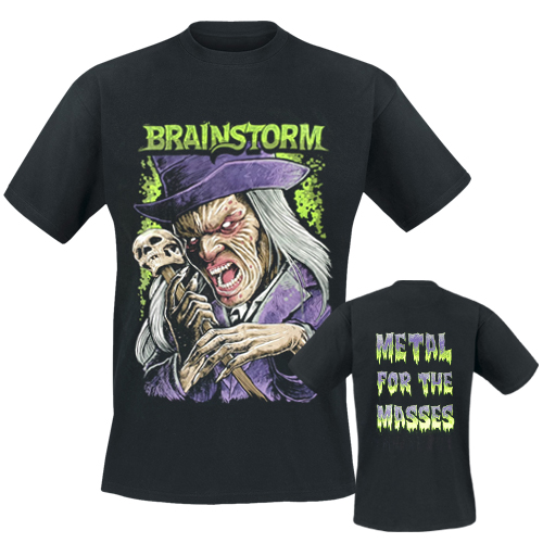 BRAINSTORM - T-Shirt - Scary Creatures Comic