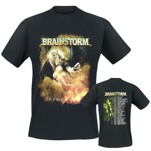 BRAINSTORM - T-Shirt - Firesoul Tour 2014-2015