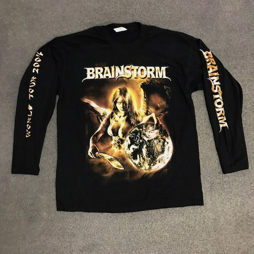 BRAINSTORM - Longsleeve - Tempting The World 2004