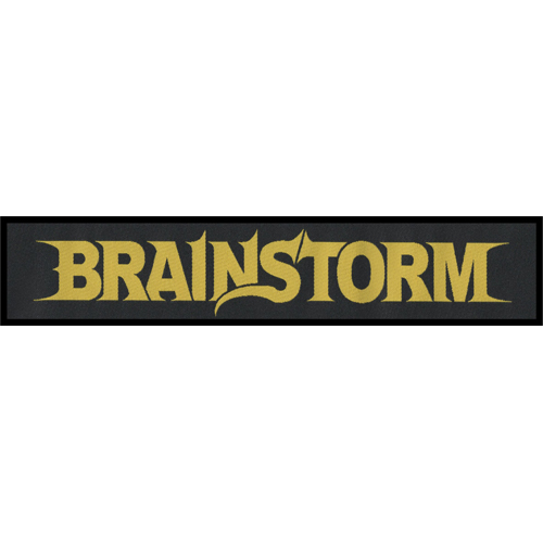 BRAINSTORM - Patch - Logo