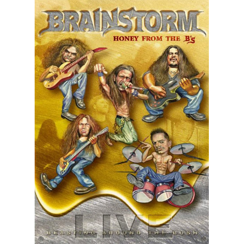 BRAINSTORM - DVD - Honey From The B`s