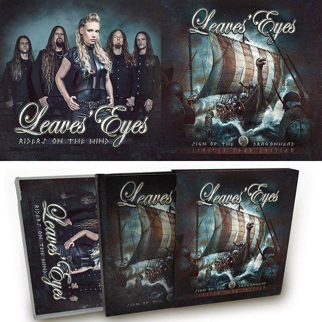 LEAVES` EYES - CD - Sign Of The Dragonhead (Tour Edition)