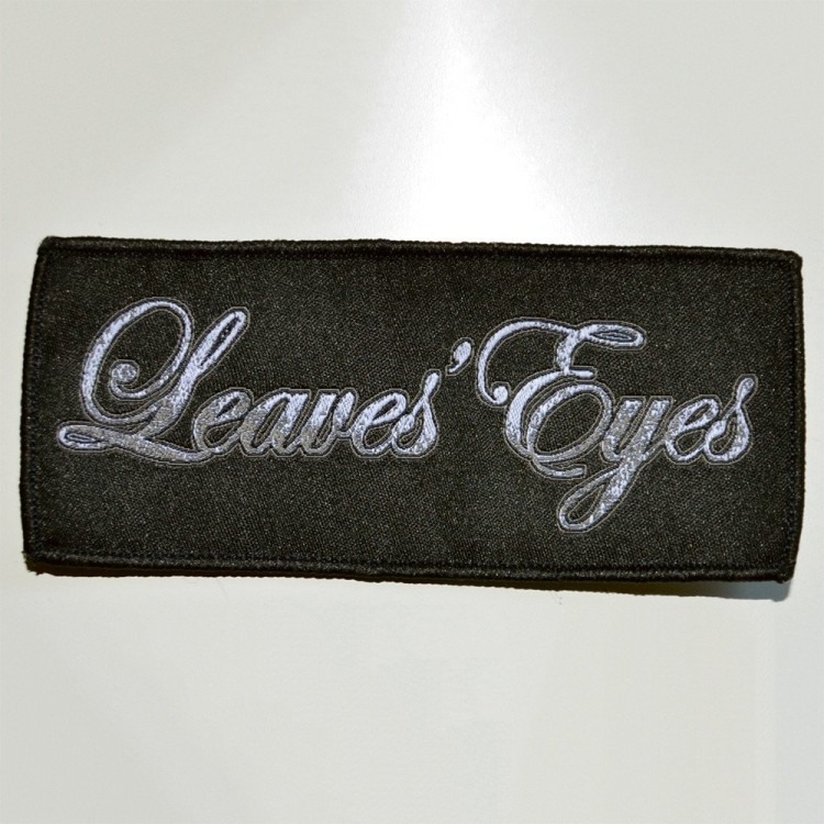 LEAVES` EYES - Aufnäher - Bandlogo