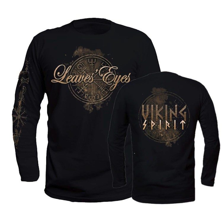 LEAVES` EYES - Longsleeve - Viking Spirit
